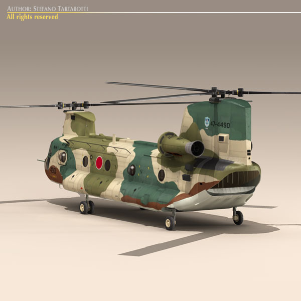 ch-47 jasdf 3d загвар 3ds dxf fbx c4d dae obj 118613