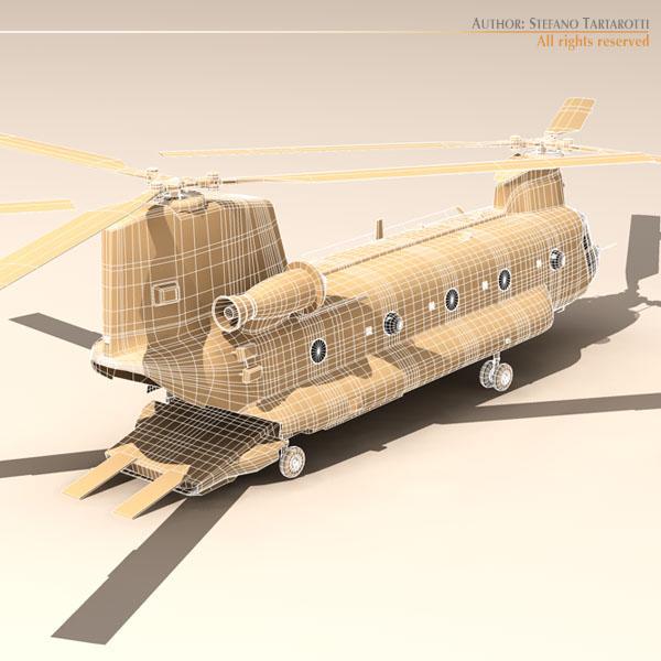 ch-47 raf helikopters 3d modelis 3ds dxf fbx c4d dae obj 118686