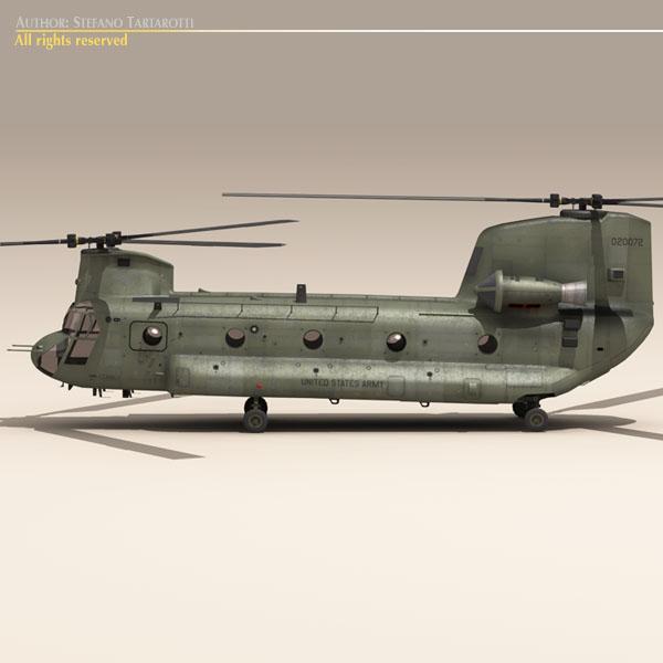 ch-47 us army 3d загвар 3ds max dxf fbx c4d 118579
