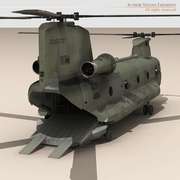 ch-47 us army 3d загвар 3ds max dxf fbx c4d 118585
