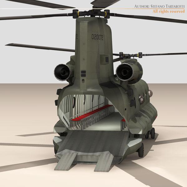 ch-47 us army 3d загвар 3ds max dxf fbx c4d 118586