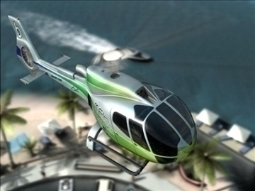 eurocopter 3d líkan ma mb 82322