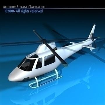 generic helicopter 3d model 3ds dxf c4d obj 84744