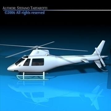 generic helicopter 3d model 3ds dxf c4d obj 84746