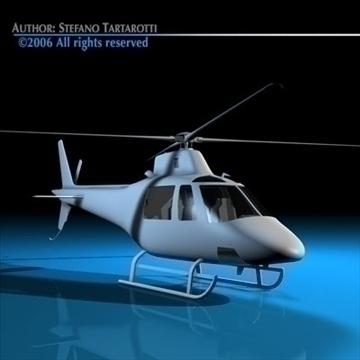 generic helicopter 3d model 3ds dxf c4d obj 84749