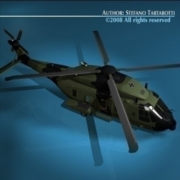 nh90 Alman ordusu 3d model 3ds dxf c4d obj 89836