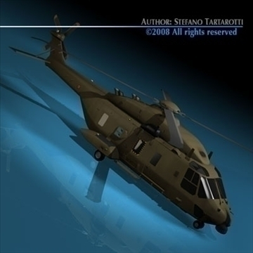 nh90 italian army 3d model 3ds dxf c4d obj 89846
