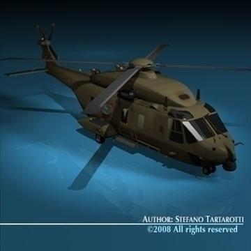 nh90 italian army 3d model 3ds dxf c4d obj 89847
