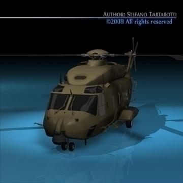 nh90 italian army 3d model 3ds dxf c4d obj 89849