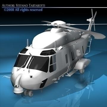 nh90 italian army 3d model 3ds dxf c4d obj 89854