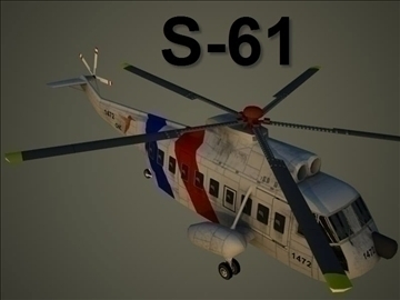 Sikorsky s 61 3d загвар max 105829