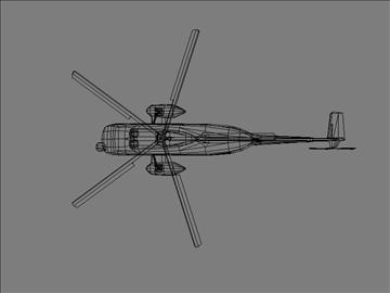 sikorsky s 61 3d model max 105831