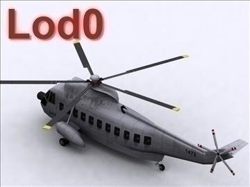 sikorsky s 61 3d model max 105835