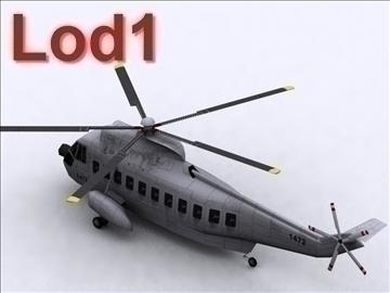 sikorsky s 61 3d model max 105836