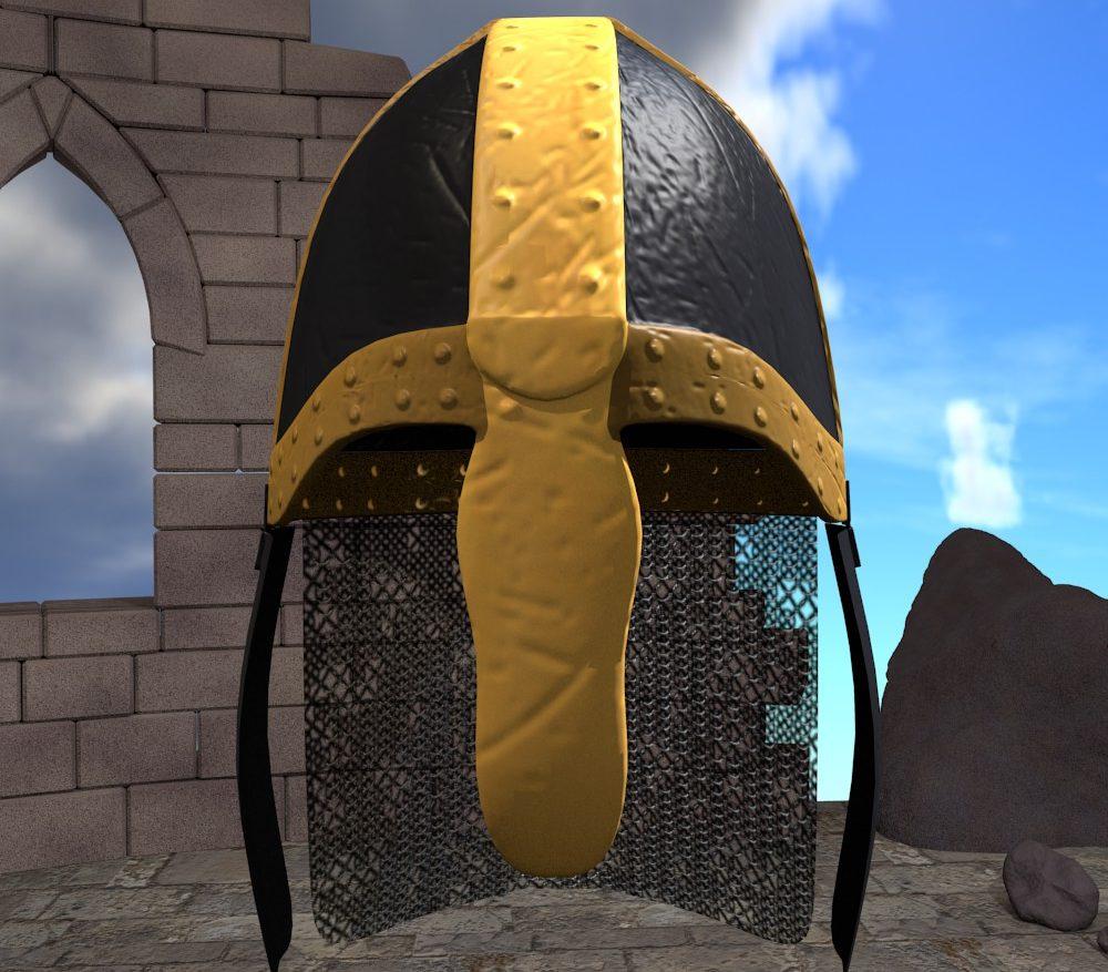 3D Model Medieval Knight Helmet ( 219.75KB jpg by forestdino )