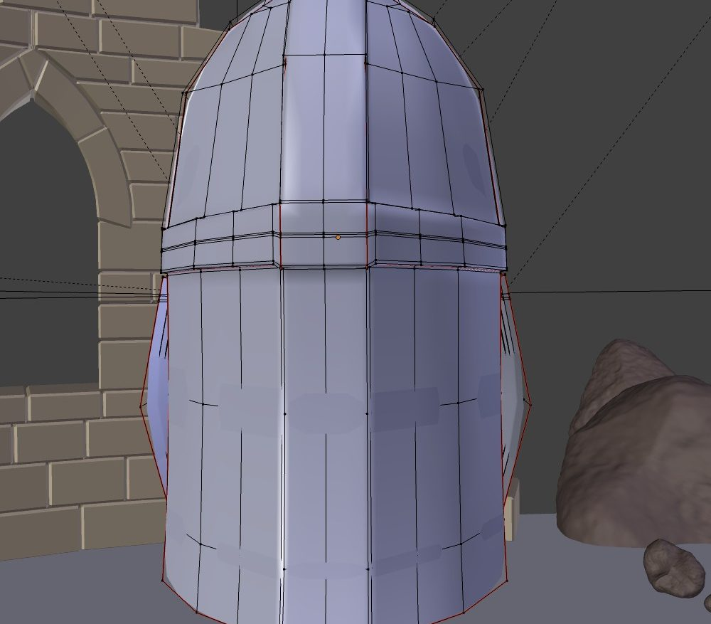 3D Model Medieval Knight Helmet ( 104.1KB jpg by forestdino )
