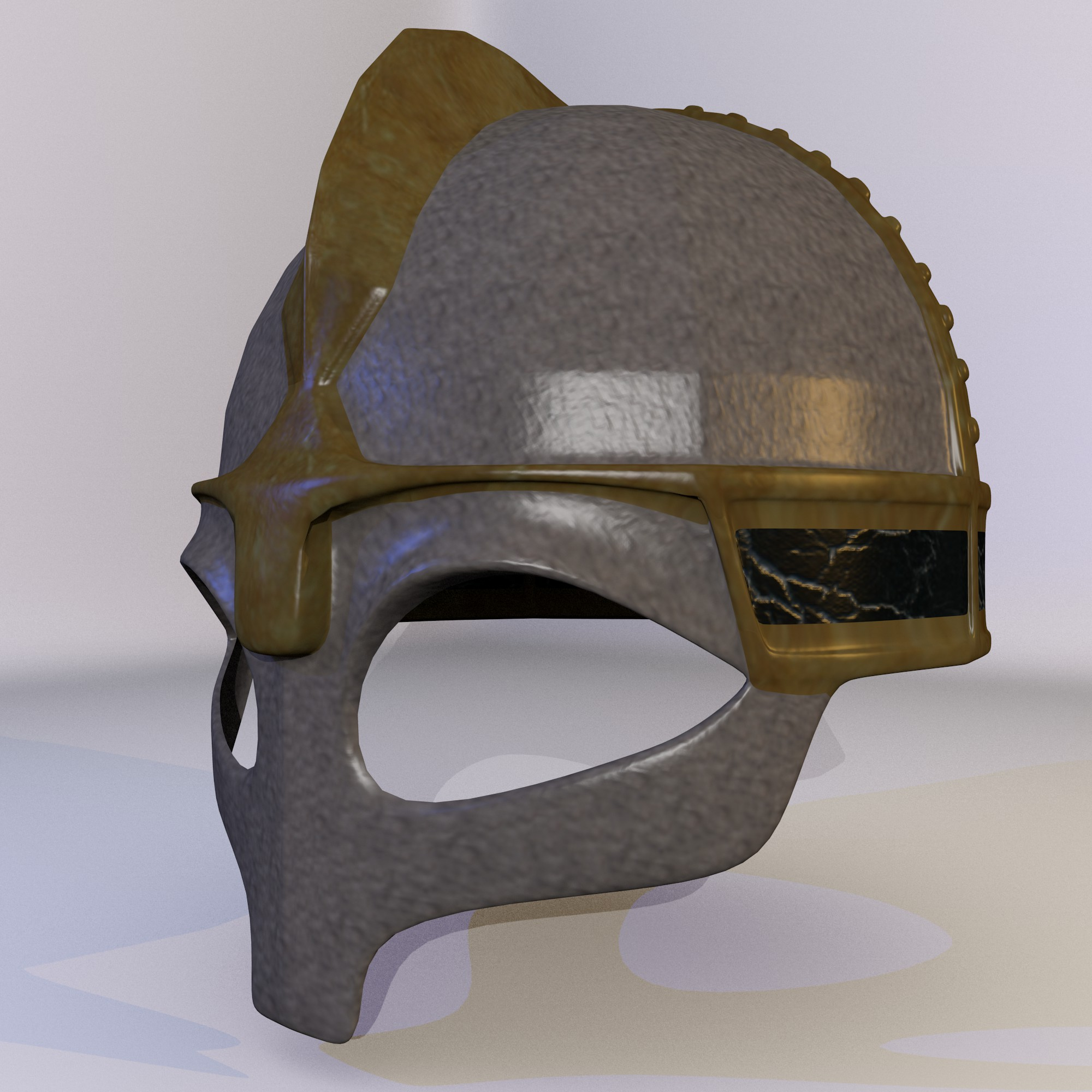ancient viking helmet 3d model fbx blend dae obj 118086