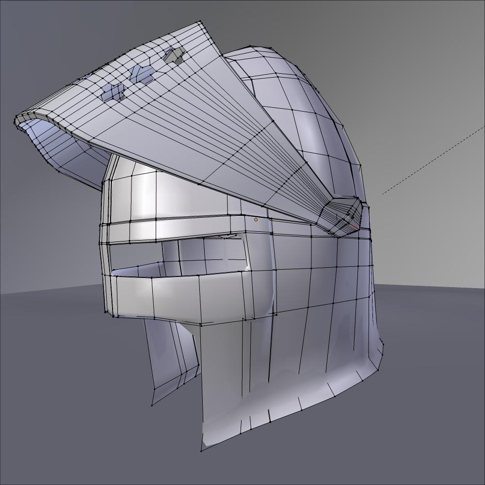 Haçlı kaskası 3d modeli fbx qarışığı daim obj 118071