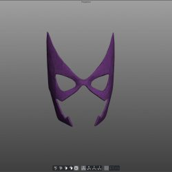 Huntress Mask ( 66.41KB jpg by tusleader )