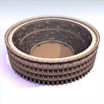 roman colosseum 3d model 3ds max fbx lwo ma mb hrc xsi texture obj 99458