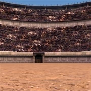 romiešu kolizejs 3d modelis 3ds max fbx lwo ma mb hrc xsi faktūra obj 99459