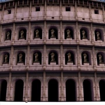 romiešu kolizejs 3d modelis 3ds max fbx lwo ma mb hrc xsi faktūra obj 99460