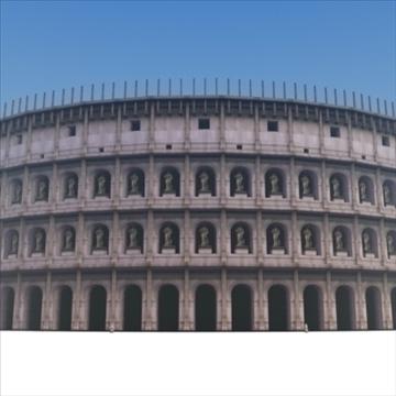 romiešu kolizejs 3d modelis 3ds max fbx lwo ma mb hrc xsi faktūra obj 99461