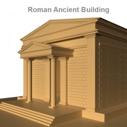 Roman Ancient Building     ( 212.5KB jpg by rmodeler )