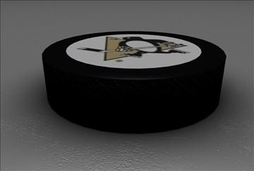 official nhl hockey puck 3d model 3ds c4d texture 109121