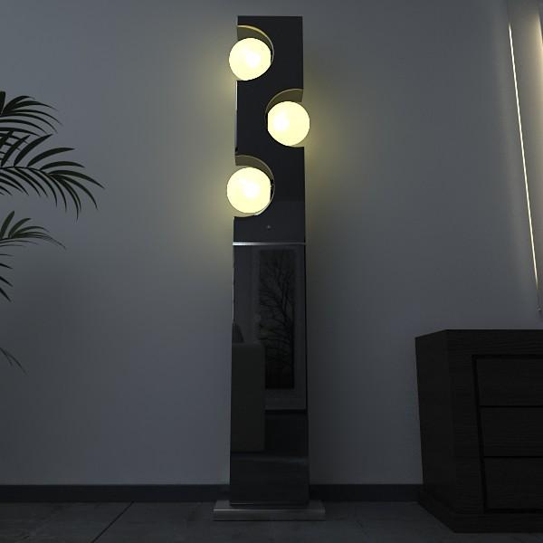 10 lampau llawr modern Model 3d 3ds max fbx obj 135283
