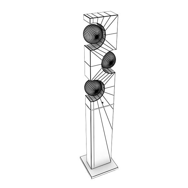 10 lampau llawr modern Model 3d 3ds max fbx obj 135288