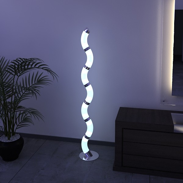 10 lampau llawr modern Model 3d 3ds max fbx obj 135307