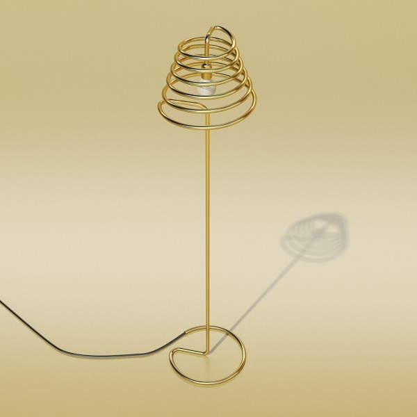 10 lampau llawr modern Model 3d 3ds max fbx obj 135311
