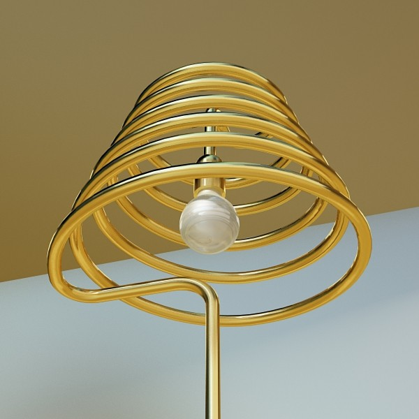10 lampau llawr modern Model 3d 3ds max fbx obj 135314