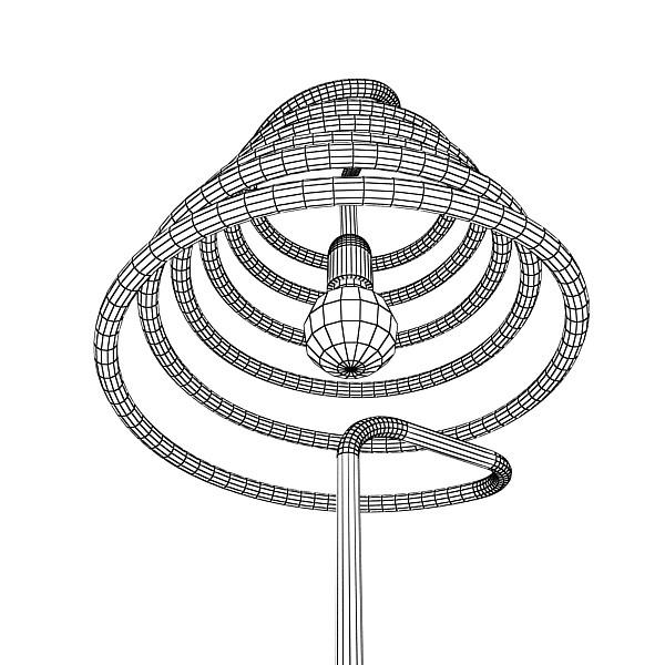 10 lampau llawr modern Model 3d 3ds max fbx obj 135319