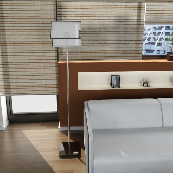 10 lampau llawr modern Model 3d 3ds max fbx obj 135325