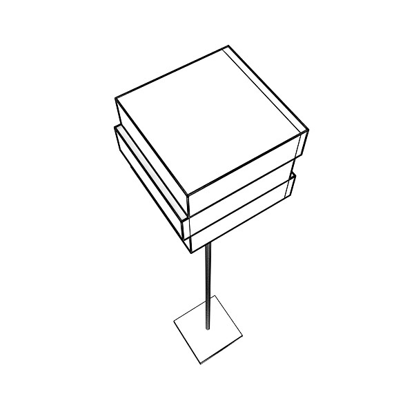 10 lampau llawr modern Model 3d 3ds max fbx obj 135327