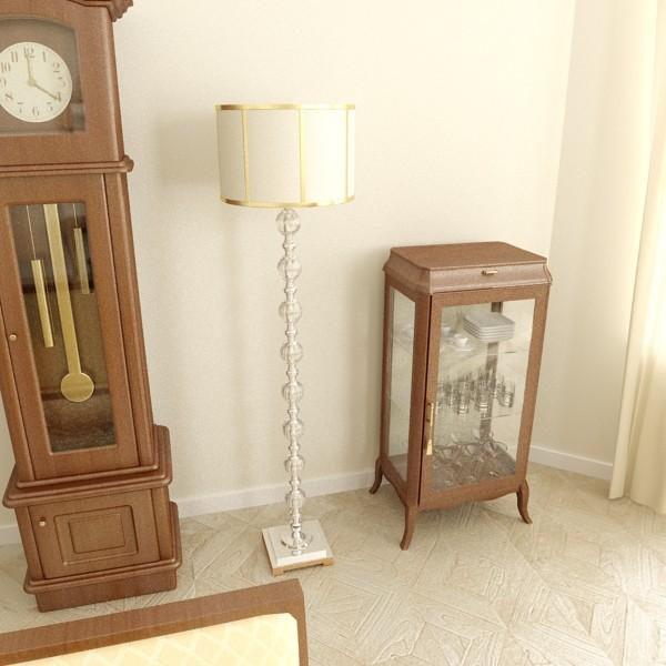 10 lampau llawr modern Model 3d 3ds max fbx obj 135337