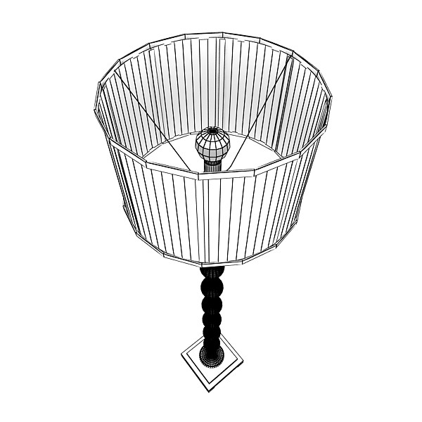 10 lampau llawr modern Model 3d 3ds max fbx obj 135345