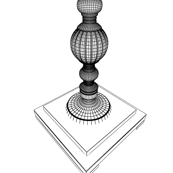 10 mūsdienu grīdas lampas 3d modelis 3ds max fbx obj 135346