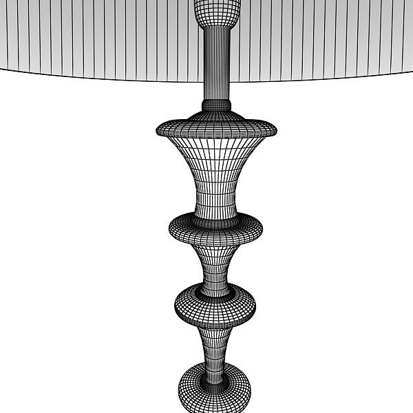 10 lampau llawr modern Model 3d 3ds max fbx obj 135355