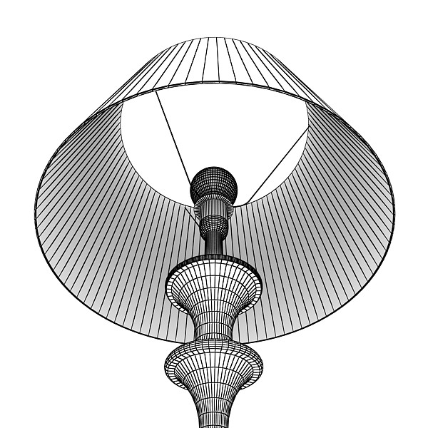 10 lampau llawr modern Model 3d 3ds max fbx obj 135356