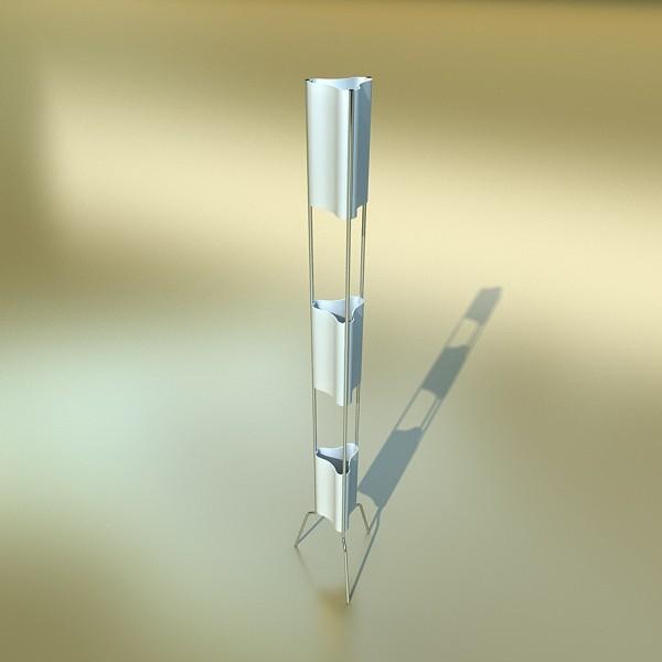 10 lampau llawr modern Model 3d 3ds max fbx obj 135357