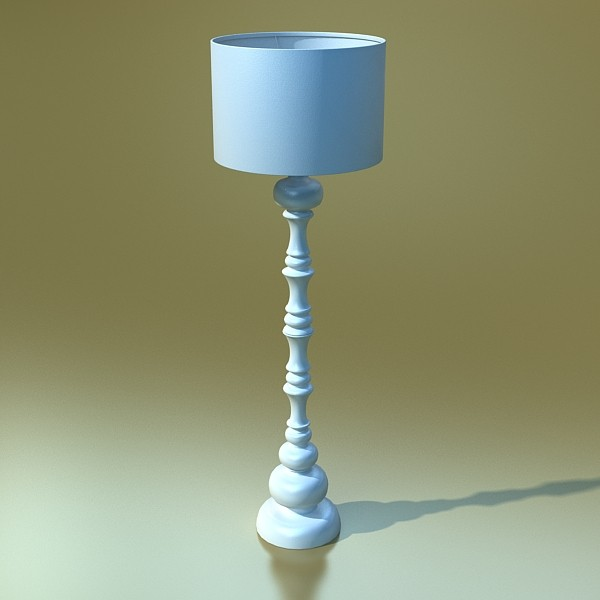 10 llums de peu moderns 3d model 3ds max fbx obj 135366