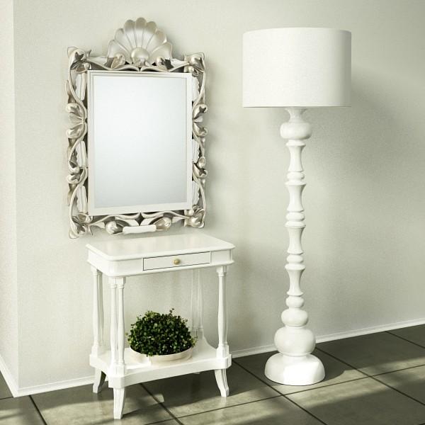 10 lampau llawr modern Model 3d 3ds max fbx obj 135372