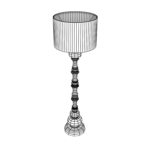 10 mūsdienu grīdas lampas 3d modelis 3ds max fbx obj 135374