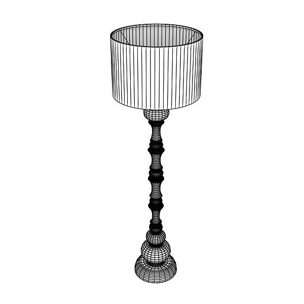 10 lampau llawr modern Model 3d 3ds max fbx obj 135375