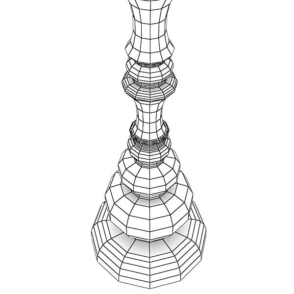 10 lampau llawr modern Model 3d 3ds max fbx obj 135377