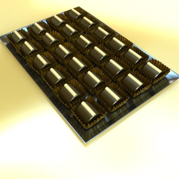 şokolad konfet 08 yüksək res 3d model 3ds max fbx obj 132434