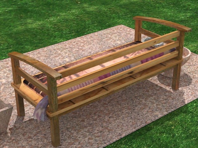 garden wooden sofa 3d model 27331kb jpg by marbelar